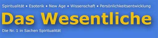 Logo of Das Wesentliche magazine