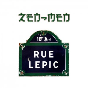 "CD cover of ""Rue Lepic"" by ZEN-MEN"