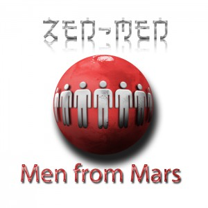 "The CD cover of ""men from mars"""