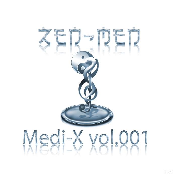 The CD cover of Medi-X vol.001 by ZEN-MEN