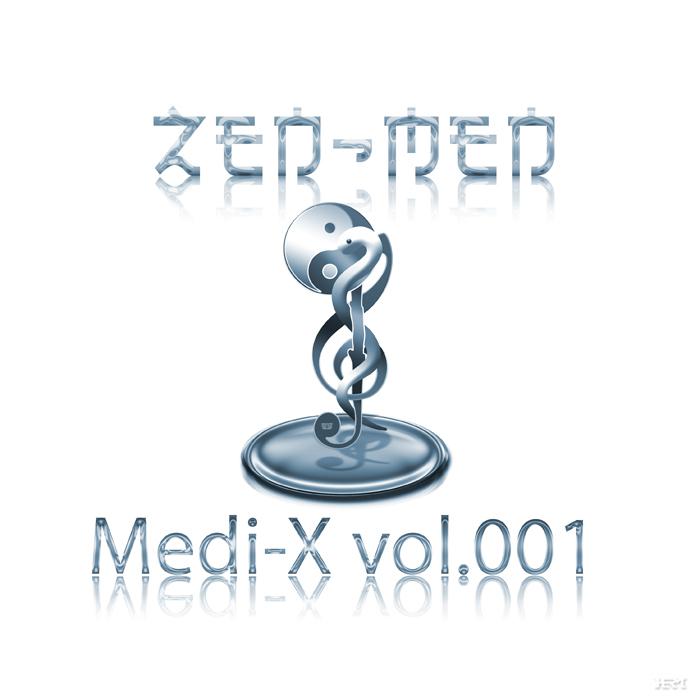 CD Cover of Medi-X vol.001 by ZEN-MEN