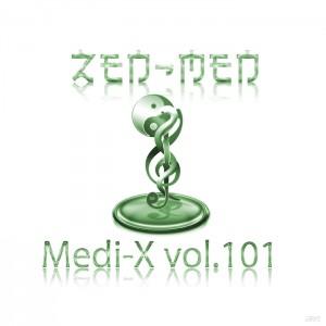 CD cover of Medi-X vol.101 by ZEN-MEN