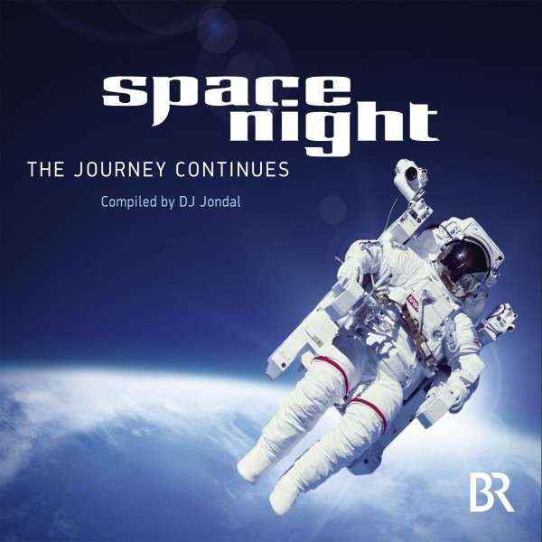 CD cover of space night - the journey continues by DJ Jondal